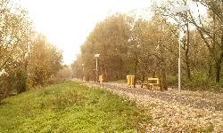 UNK-MONO-8W-2011 napelemes kandeláberek lettek telepítve napelemes térvilágítás céljából Vonyarcvashegyen.