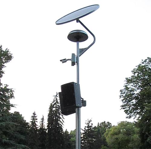 ILST-SZNS-SMART-L-D1-2018 Napelemes sétány világítás Margitsziget