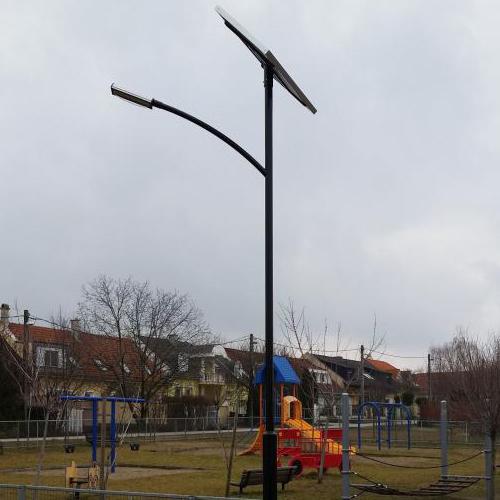 Budapest, játszótéri térvilágítás