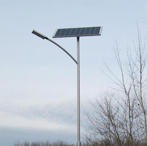 Bugacpusztaháza, napelemes térvilágítás