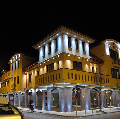 Kiskunfélegyháza, Klapka utca LED-es dísz és funkcionális világítása