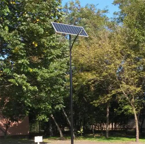 Lakitelek gördeszka-pálya, napelemes közvilágítás