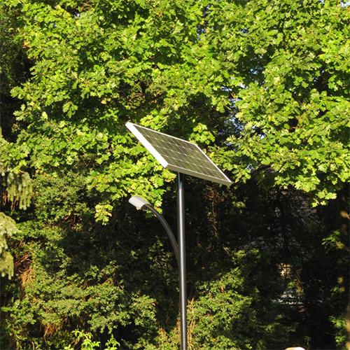Székkutas, napelemes térvilágítás