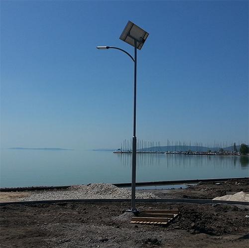Balatonkenese, napelemes térvilágítás