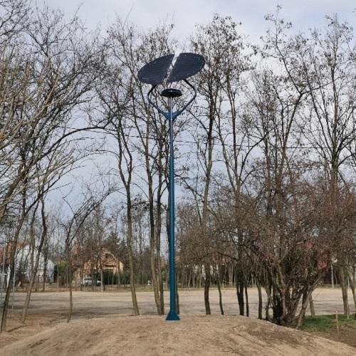 Kiskunfélegyháza, Zöld város program Félegyházi Napelemes Sétányvilágítás